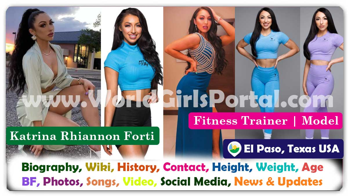 Katrina Rhiannon Forti Biography American Fitness Trainer Contact Details for Paid Promotion Instagram Super Model USA Fitness Model - World America News Portal