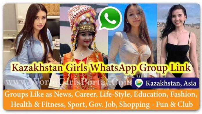 Kazakhstan Girls WhatsApp Group for Jobs - Life Partner - Chat - Business IDEA - World Kazakh Girls Portal - Matrimonial Groups for Love