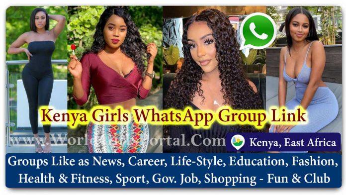 Kenya Girls WhatsApp Group for Jobs - Life Partner - Chat - Business IDEA - World African Girls Portal - Matrimonial Groups for Love - East Africa