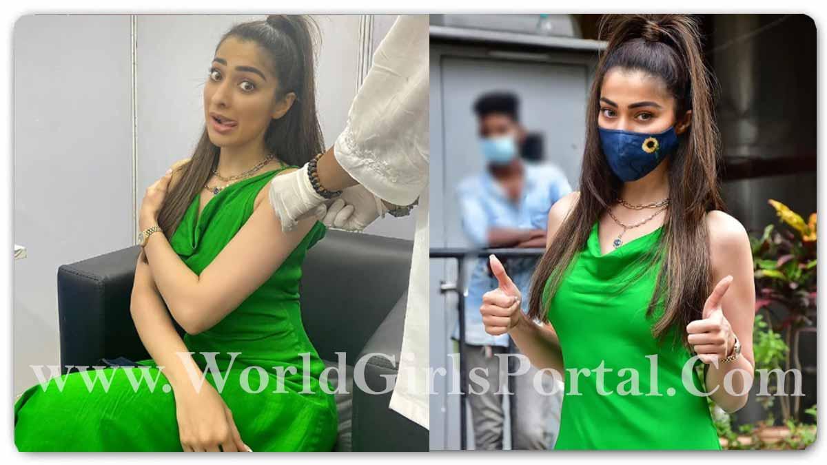 Raai Laxmi Get Covid Vaccine: साउथ एक्ट्रेस Raai Laxmi के कोरोना वैक्सीन लगवाते समय छूटे पसीने! South Indian Beautiful Actress News Portal