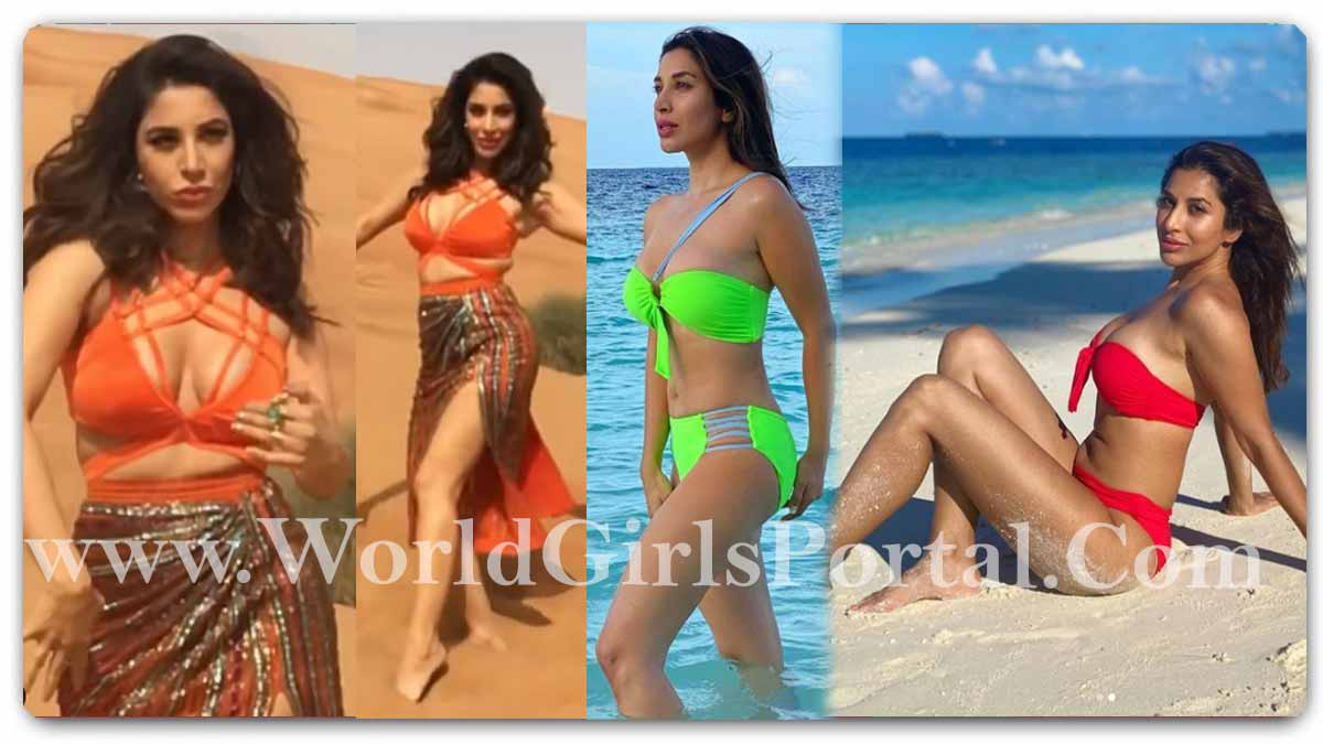 Sophie Choudry Hot Dance: #SophieChoudry waved her waist in the desert, did a tremendous dance on 'Jalebi Baby' song