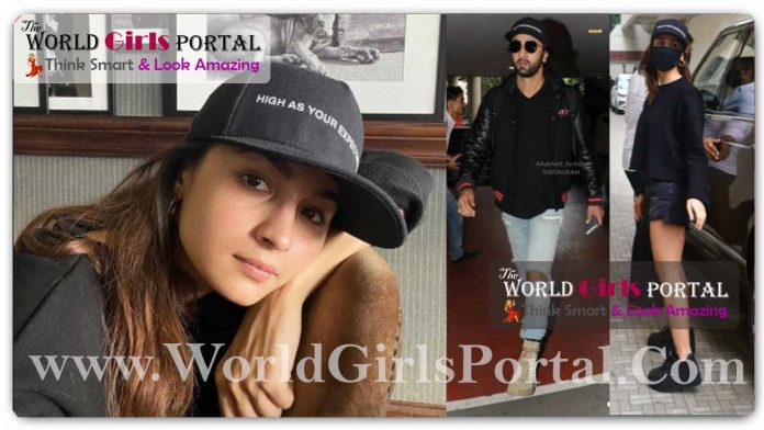 Alia Bhatt Black Outfit as a Cape, T-shirt and Short All Over Black Fashion Style Every College Girls Inspiration this Style #YoungerStyle