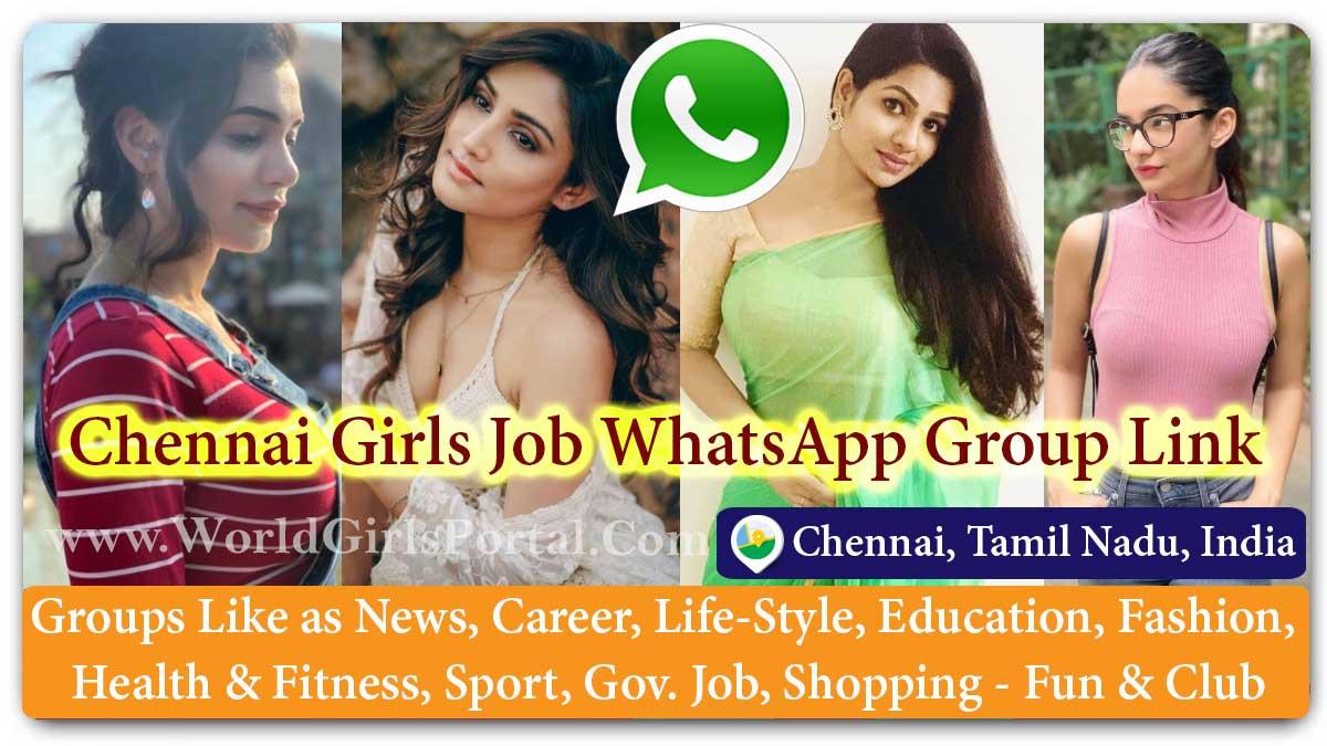 Chennai Girls Job WhatsApp Group Link   Home Work, House Wife Naukri, College Girl Job Recruitment, Government Bharti for Women
