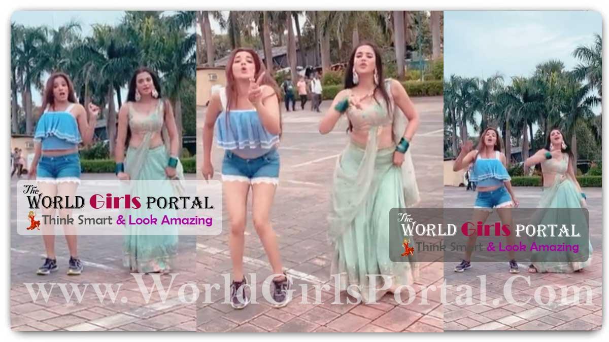 Monalisa Floral Top with Short in Hot Dance: भोजपुरी एक्ट्रेस मोनालिसा ने बीच सड़क पर लगाए ठुमके, हॉट डांस बढ़ा देगा गर्मी! Indian TV Actress News