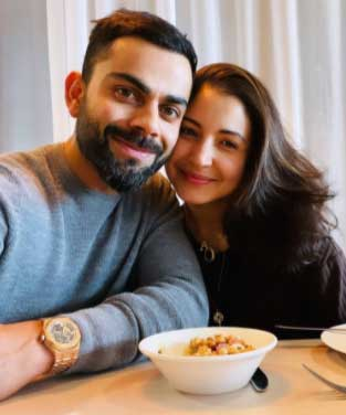 Anushka Sharma and Virat Kohli take break from outdoors for a simple lunch date. See pic