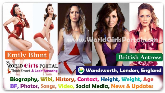 Emily Blunt Biography Wiki Contact Details British Actress WhatsApp Number Photos Video BF Career Life Style Location Email ID Social Media