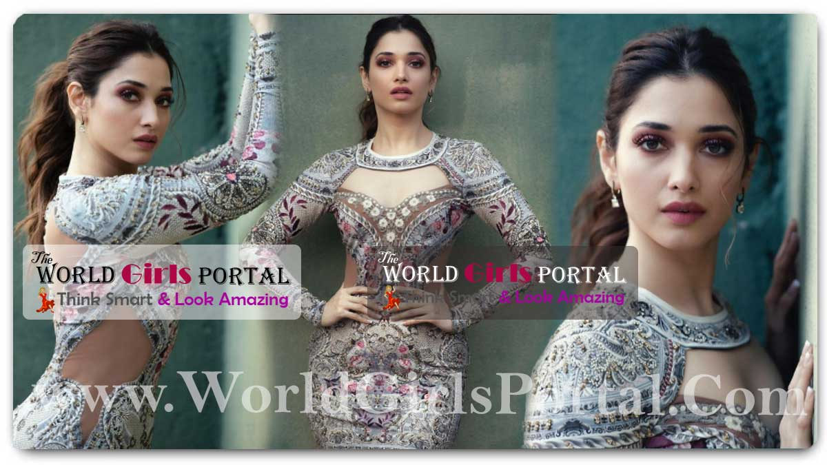 Tamannaah Bhatia Body-hugging dress: Tamannaah Flaunts Toned Body In Floral Mini Dress, See Her Oozing Oomph In These Pictures