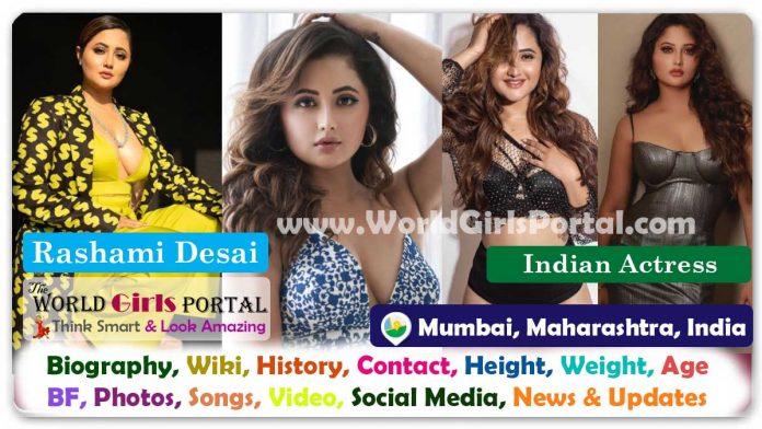 Rashami Desai Biography Wiki Contact Details WhatsApp Number Photos Video BF Career Life Style Email ID Indian Film/TV/Web Actress Bio-Data