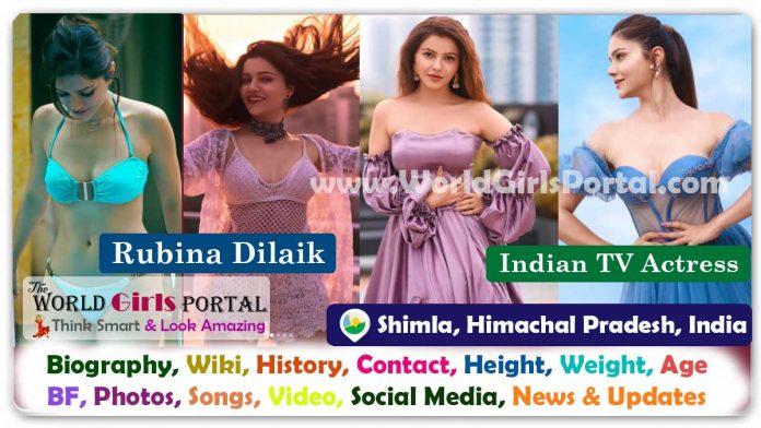 Rubina Dilaik Biography Wiki Contact Details Himachal Pradesh Actress WhatsApp Number Photos Video BF Career Life Style Indian TV Actress