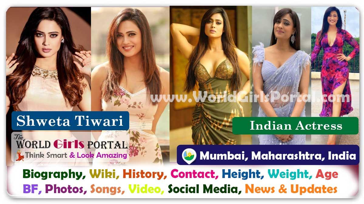 Shweta Tiwari Biography Wiki Contact Details WhatsApp Number Photos Video BF Career Life Style Indian TV Actress Bio-Data