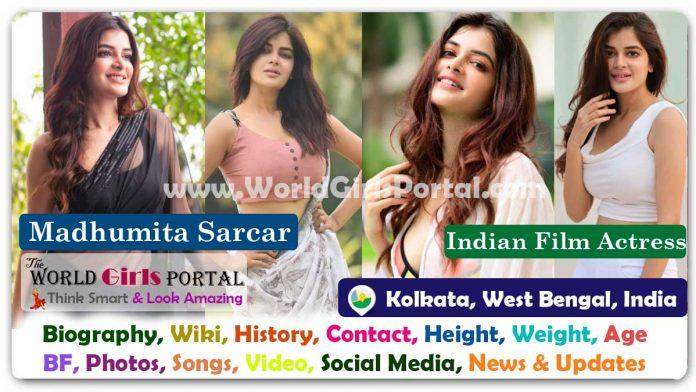 Madhumita Sarcar Biography Wiki Indian Actress Contact Details Photos Video BF Career Phone Number Email ID Social Media - Malayalam - Telugu Heroin Bio-Data