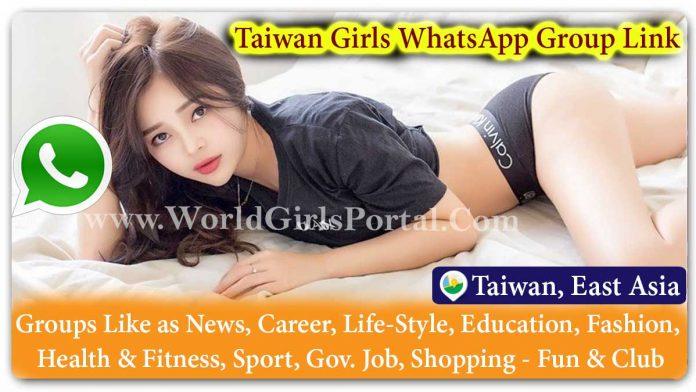 Taiwan Girls WhatsApp Group Link Join for Jobs - Life Partner Chat Dating Business World Taiwan Girl Social Media Portal