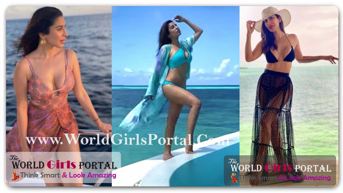 Sophie Choudry Enjoy in Sky Blue Bikini Video: Sunsets at Soneva, Her Sultry Pictures In Black Bikini with Cape, Take A Look